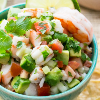 Avocado Shrimp Salsa