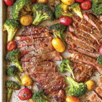 Sheet Pan Steak & Veggies