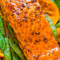 Foiled Honey Mustard Salmon
